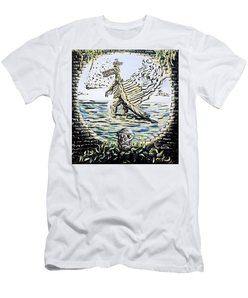 The Machine Men's T-Shirt (Slim Fit) by Ryan Demaree