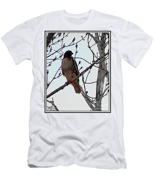 The Majestic Hawk Men's T-Shirt (Athletic Fit)