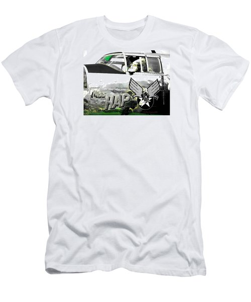 The Miss Hap Men's T-Shirt (Slim Fit) by Kathy Barney