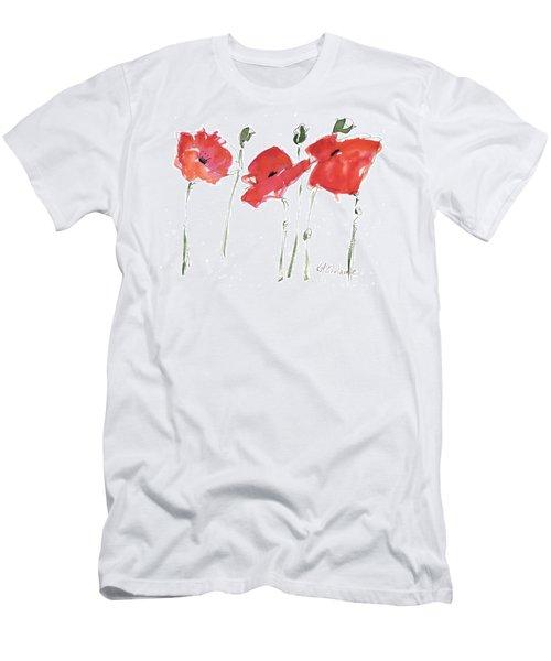 The Poppy Ladies Men's T-Shirt (Athletic Fit)