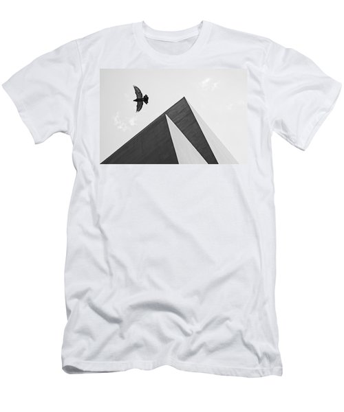 The Pyramids Of Love And Tranquility Men's T-Shirt (Athletic Fit)