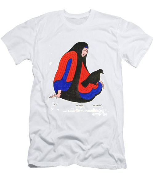 The Raven From Artist Proof 1 Men's T-Shirt (Athletic Fit)