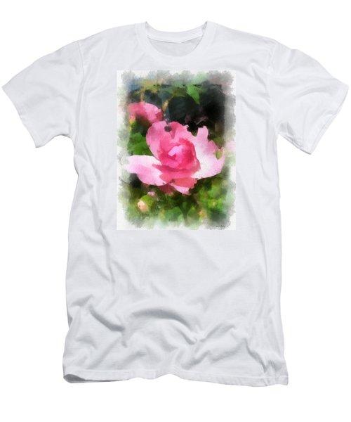 The Rose Men's T-Shirt (Slim Fit) by Kerri Farley