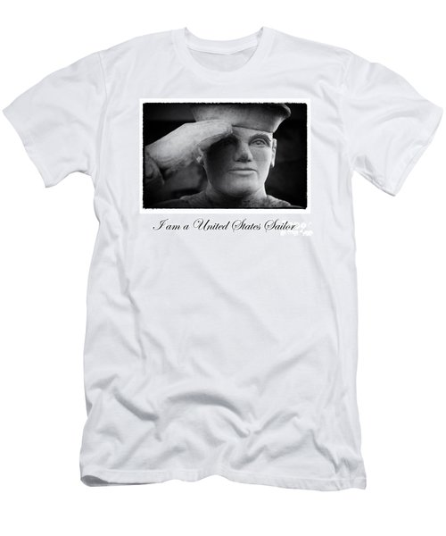 The Sailors Creed Men's T-Shirt (Slim Fit) by Tony Cooper