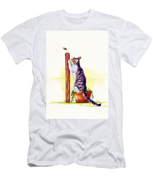 The Scratching Post Men's T-Shirt (Athletic Fit)