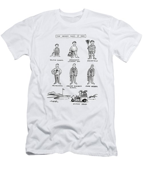 The Seven Ages Of Man Men's T-Shirt (Athletic Fit)