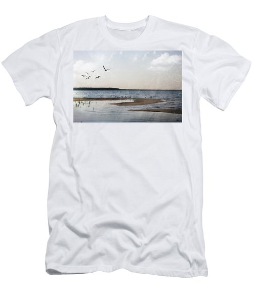 The Shallows At Whitefish Bay Men's T-Shirt (Athletic Fit)