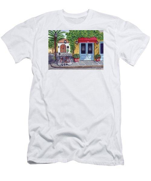 The Snob Restaurant Men's T-Shirt (Slim Fit) by Val Miller