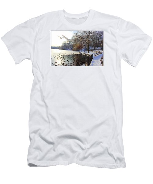 The End Of The Storm Men's T-Shirt (Slim Fit) by Dora Sofia Caputo Photographic Art and Design