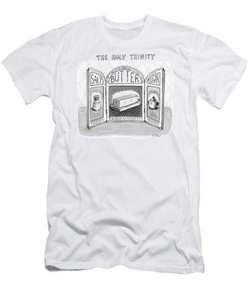 The Holy Trinity Men's T-Shirt (Athletic Fit)