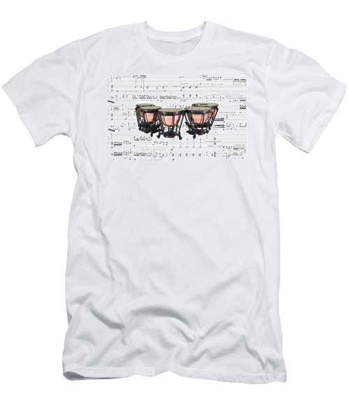The Timpani Men's T-Shirt (Athletic Fit)