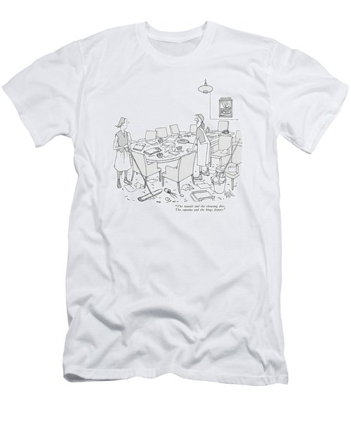 The Tumult And The Shouting Dies Men's T-Shirt (Athletic Fit)