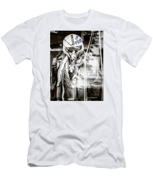 Men's T-Shirt (Athletic Fit) featuring the photograph The U.s Airman by Stwayne Keubrick