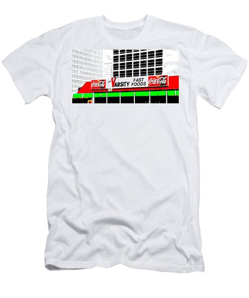 The Varsity Atlanta Pop Art Men's T-Shirt (Athletic Fit)