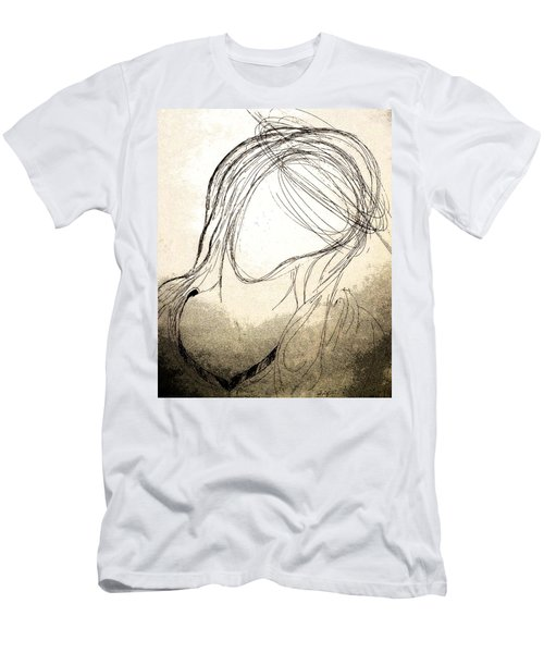 The Virgin Mary V Men's T-Shirt (Athletic Fit)