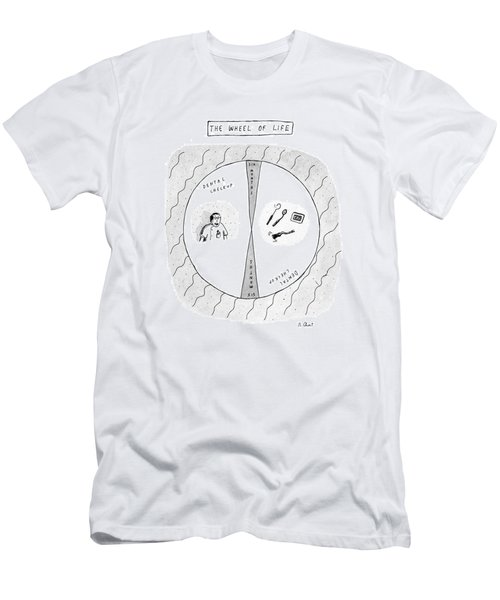 The Wheel Of Life Men's T-Shirt (Athletic Fit)