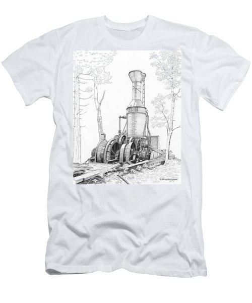 The Willamette Steam Donkey Men's T-Shirt (Athletic Fit)
