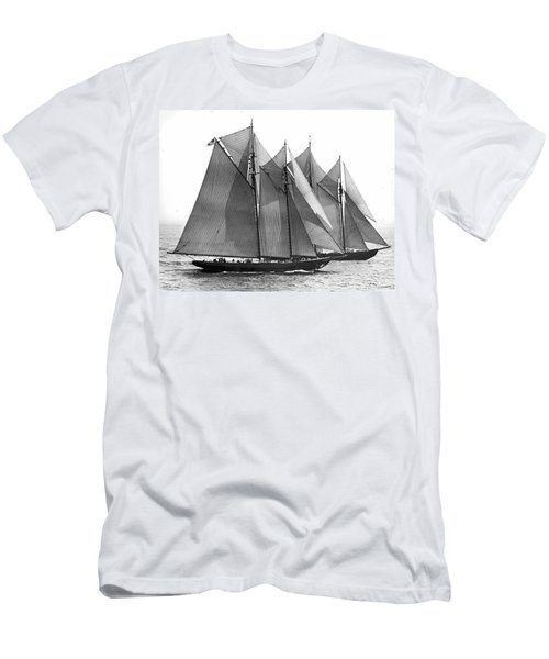 Thebaud Passes Bluenose Men's T-Shirt (Athletic Fit)