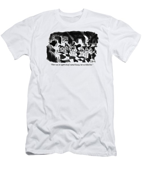 There Was An Eighth Dwarf Men's T-Shirt (Athletic Fit)
