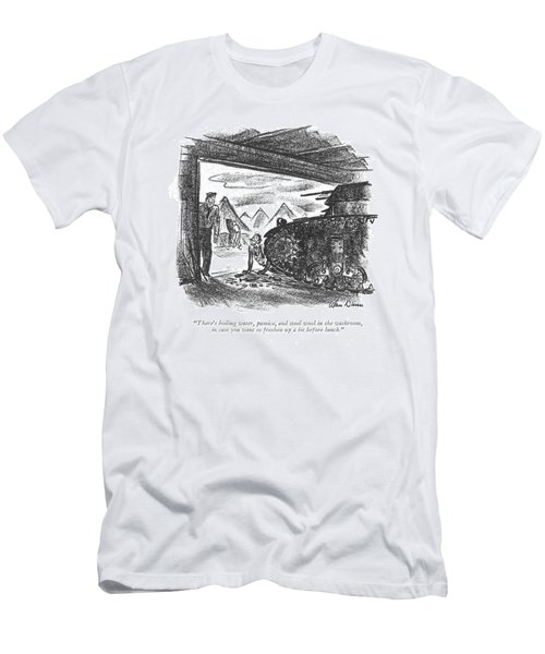 There's Boiling Water Men's T-Shirt (Athletic Fit)