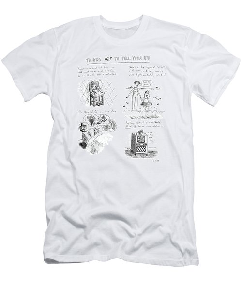 Things Not To Tell Your Kid Men's T-Shirt (Athletic Fit)