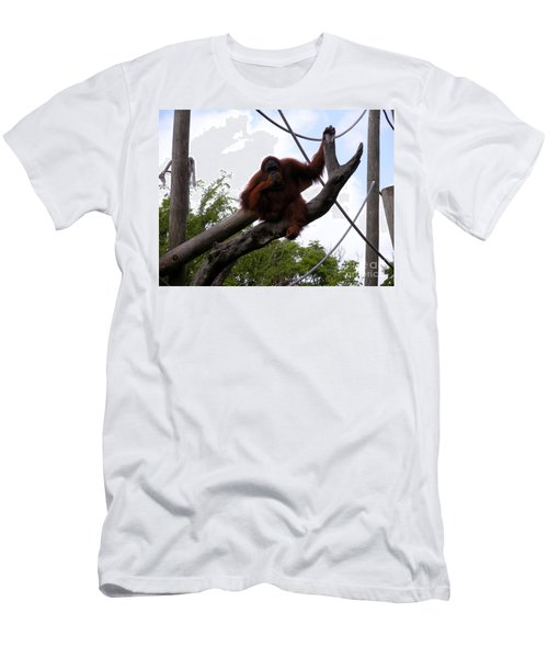 Men's T-Shirt (Slim Fit) featuring the photograph Thinking Of You by Joseph Baril