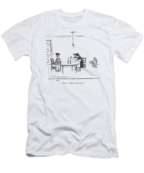 This Is A Night For White Wine Men's T-Shirt (Athletic Fit)