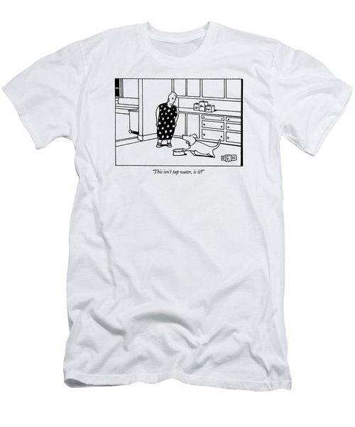 This Isn't Tap Water Men's T-Shirt (Athletic Fit)