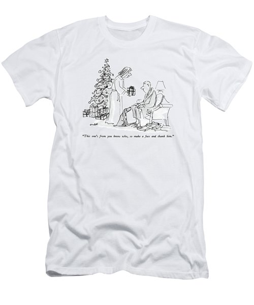 This One's From You Know Who Men's T-Shirt (Athletic Fit)