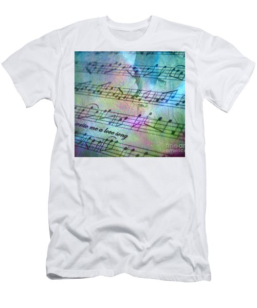 Men's T-Shirt (Slim Fit) featuring the photograph This Song's For You by Irma BACKELANT GALLERIES