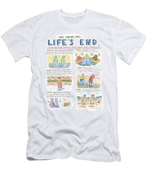 This Spring Try Life's End:  'clothing For People Men's T-Shirt (Athletic Fit)