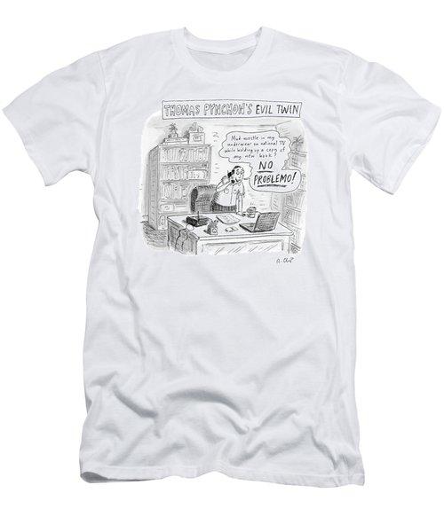 Thomas Pynchon's Evil Twin Men's T-Shirt (Athletic Fit)