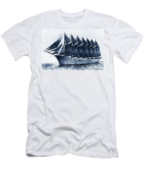Thomas W. Lawson Seven-masted Schooner 1902 Men's T-Shirt (Athletic Fit)