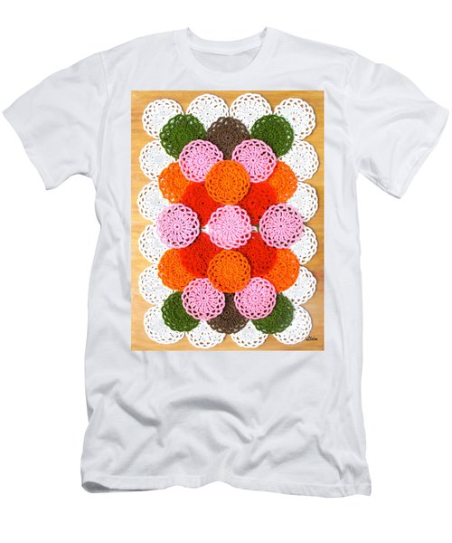 Thread On Canvas Men's T-Shirt (Athletic Fit)