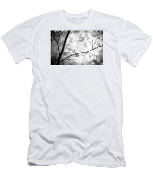 Through The Leaves Men's T-Shirt (Slim Fit) by Darryl Dalton