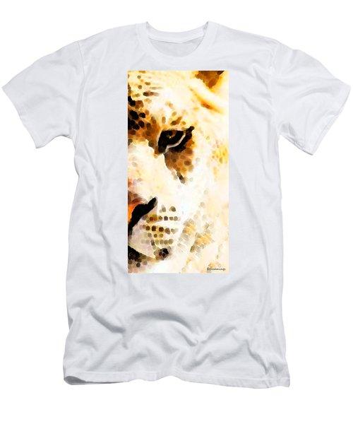 Tiger Art - Pride Men's T-Shirt (Athletic Fit)