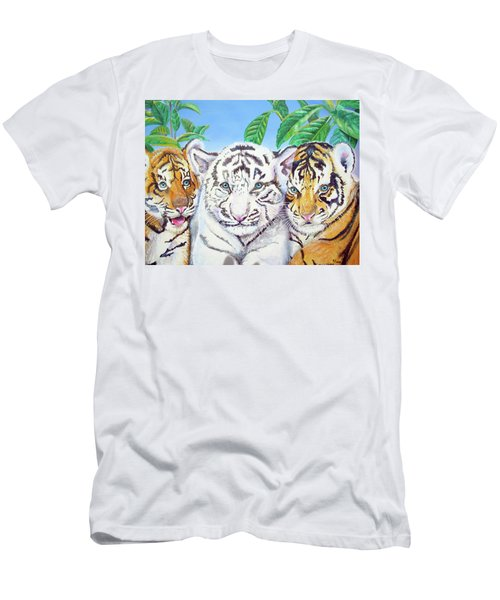Tiger Cubs Men's T-Shirt (Athletic Fit)