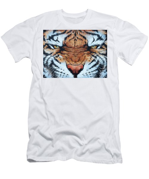 Tiger Eyes Men's T-Shirt (Athletic Fit)