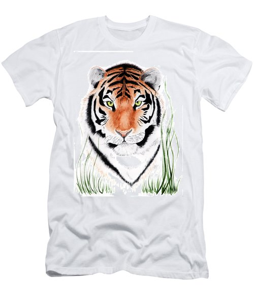 Tiger Tiger Where Men's T-Shirt (Athletic Fit)