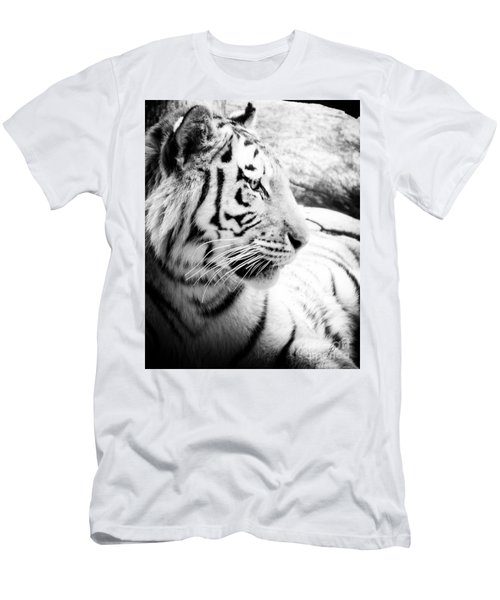 Men's T-Shirt (Slim Fit) featuring the photograph Tiger Watch by Erika Weber