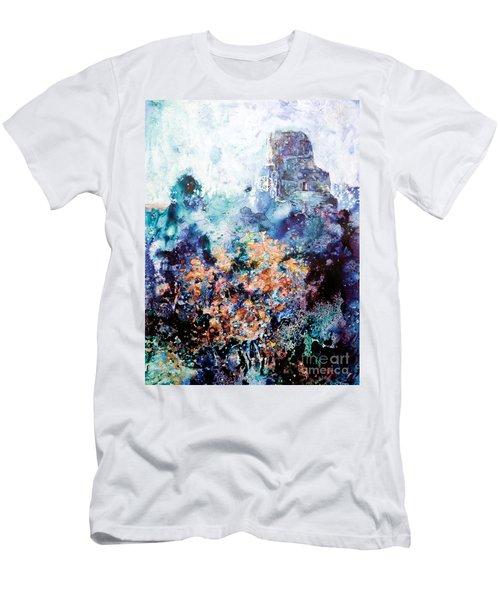 Tikal Ruins Men's T-Shirt (Slim Fit) by Ryan Fox