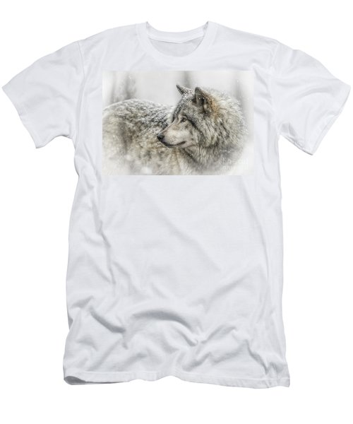 Timber Wolf Pictures 280 Men's T-Shirt (Athletic Fit)