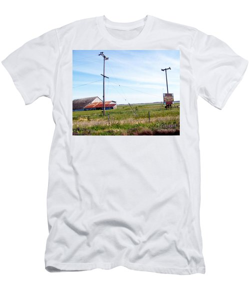 Men's T-Shirt (Slim Fit) featuring the photograph Time Passed By by Bobbee Rickard