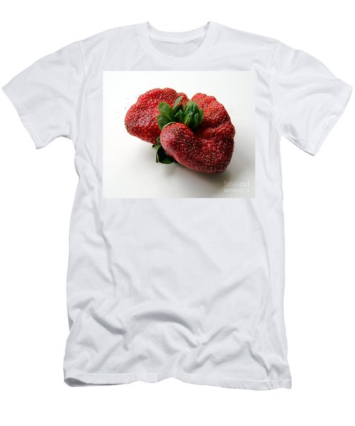Tina's Strawberry Men's T-Shirt (Athletic Fit)