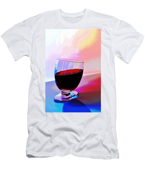Men's T-Shirt (Slim Fit) featuring the photograph Tipsy by Ludwig Keck