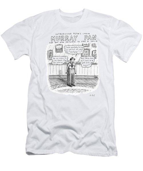 Title: Introducing Peter's Cousin Men's T-Shirt (Athletic Fit)