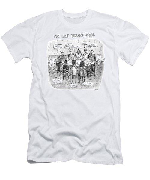 The Last Thanksgiving Men's T-Shirt (Athletic Fit)