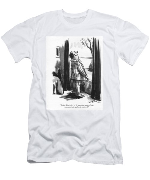 Today I'm Going To Be Unaware Men's T-Shirt (Athletic Fit)