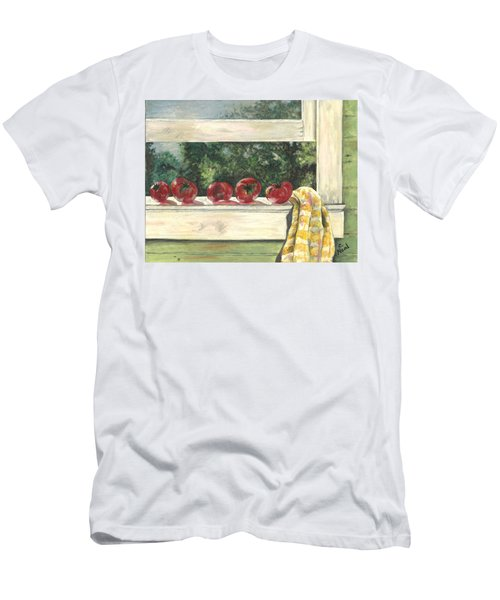 Tomatoes On The Sill Men's T-Shirt (Athletic Fit)