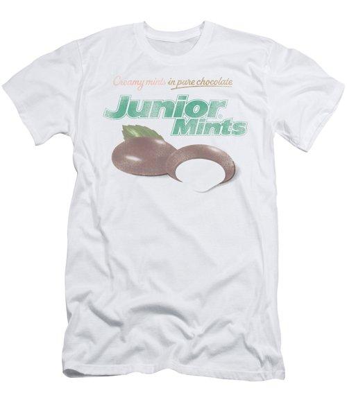 Tootsie Roll - Junior Mints Logo Men's T-Shirt (Athletic Fit)